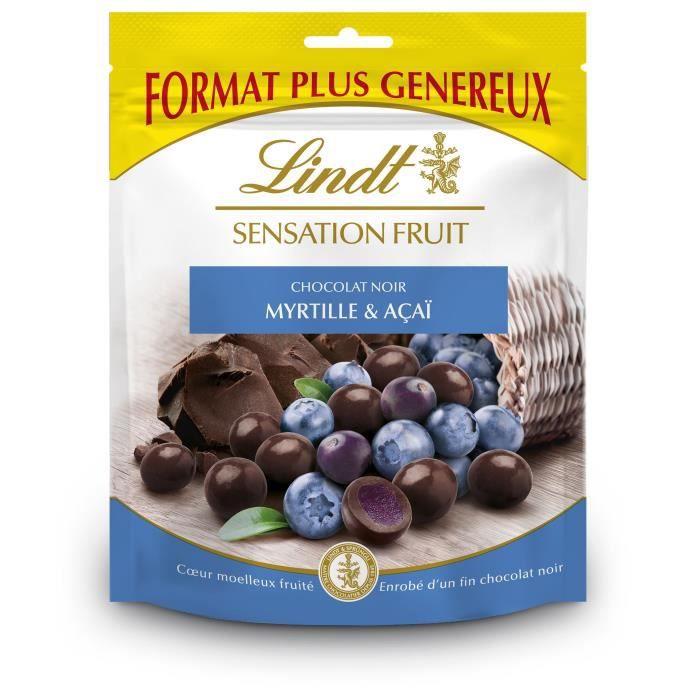 LINDT Sensation Fruit Myrtille et Açaï