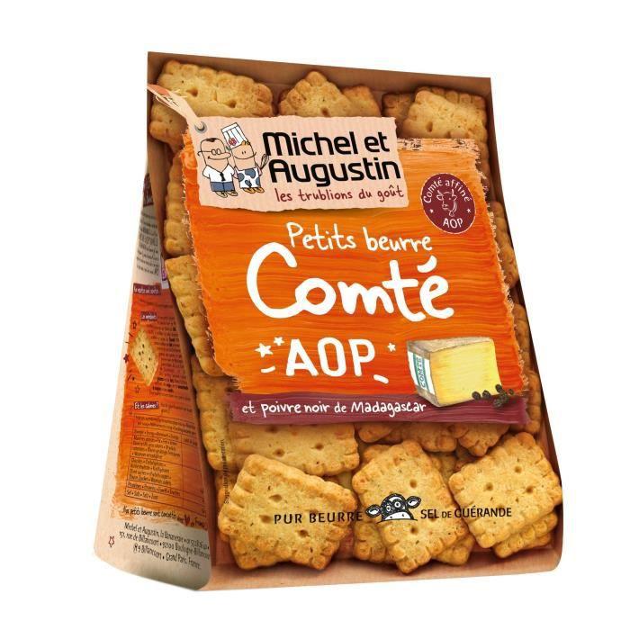 Petits beurre apéritif comté 100 g Michel et Augustin