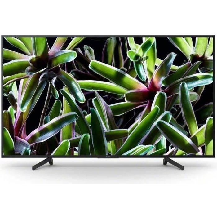 SONY KD65X7055BAEP TV LED 4K UHD - 65- (163cm) - 4K HDR - Dolby Digital/ DTS - Smart TV - 3xHDMI - 3xUSB - Vlasse énergétique A