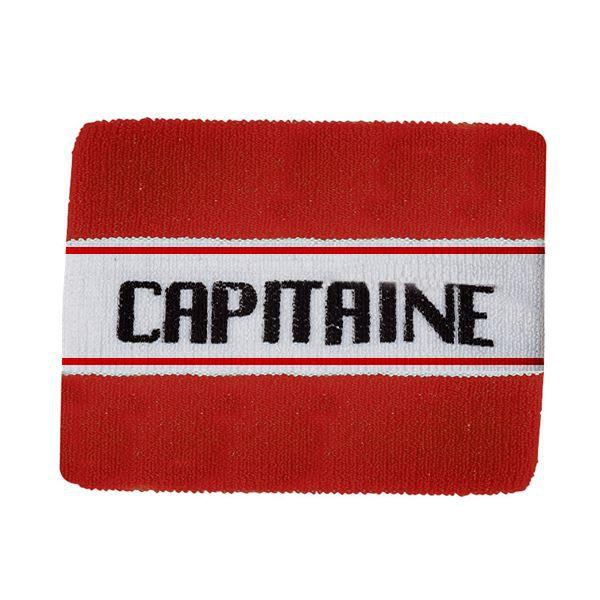 Brassrad capitaine junior couleur blanc/rouge