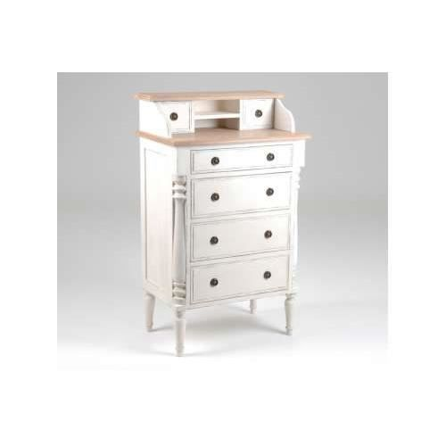 meuble d 39 appoint patin blanc achat vente petit meuble. Black Bedroom Furniture Sets. Home Design Ideas