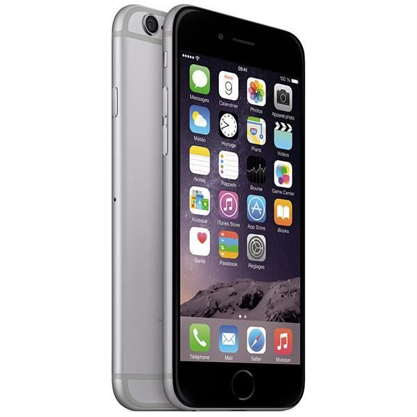 SMARTPHONE APPLE iPhone 6 Gris sidéral 64Go