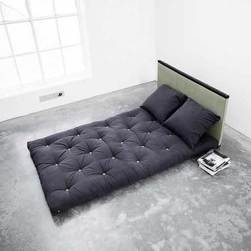 lit sano tatami futon purple 2 places achat vente. Black Bedroom Furniture Sets. Home Design Ideas