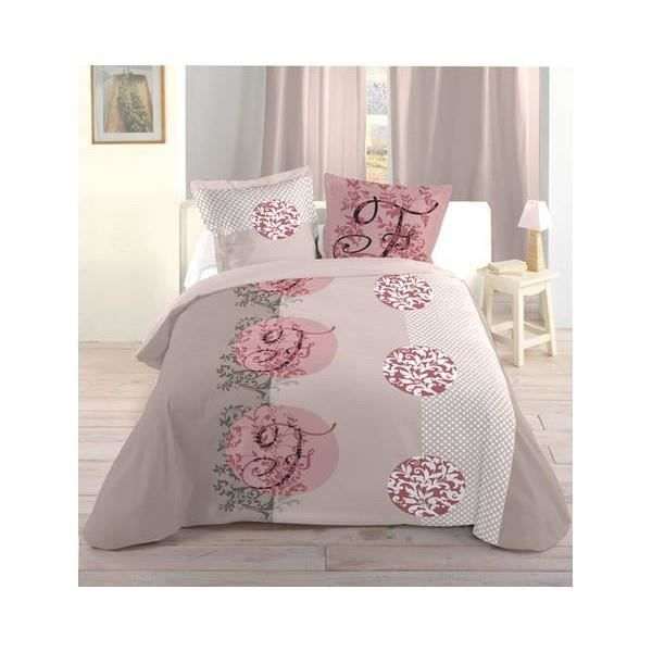 housse de couette romantique rose gascity for. Black Bedroom Furniture Sets. Home Design Ideas