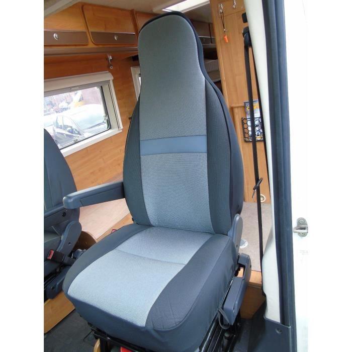 Compatible avec les housses de si/ège de camping-car Peugeot Boxer 2009 en daim de terre cuite MH-192