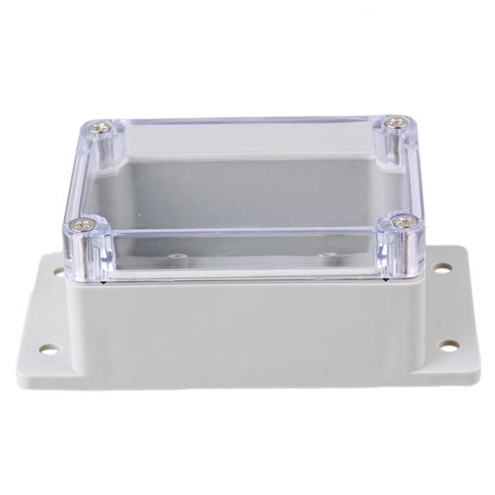 livraison rapide Tout nouveau plastique blanc boîte de jonction 2 ans de garantie