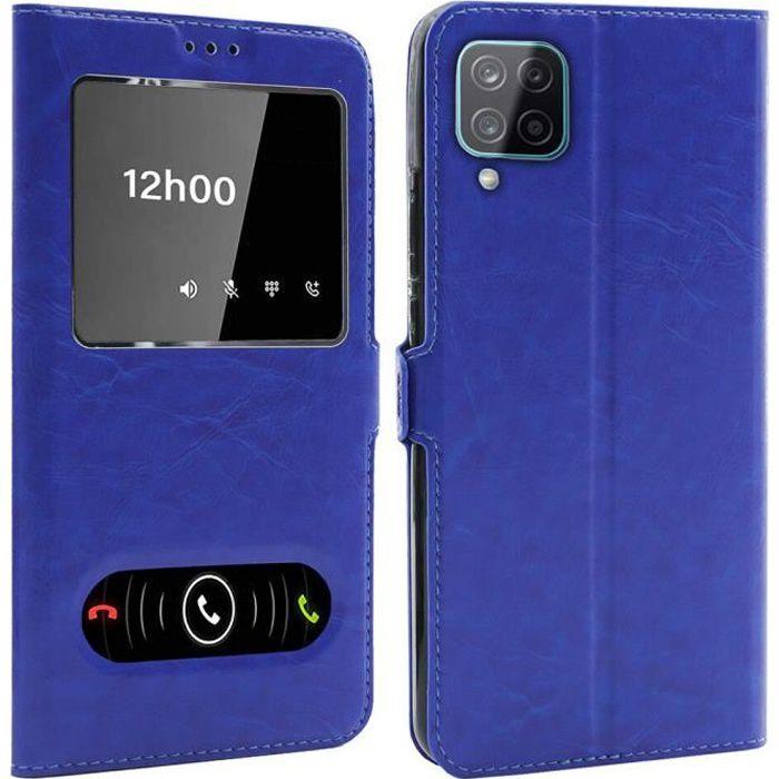 Coque pour Samsung Galaxy A12 (6,5 Pouces), Double