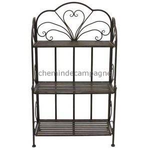 etagere ancienne achat vente etagere ancienne pas cher cdiscount. Black Bedroom Furniture Sets. Home Design Ideas
