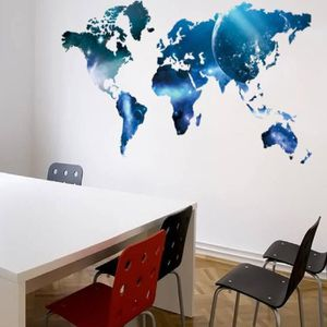 stickers planisphere achat vente pas cher. Black Bedroom Furniture Sets. Home Design Ideas