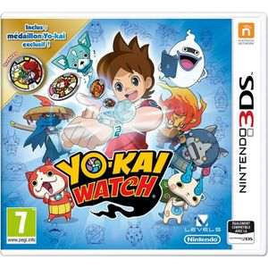 JEU 3DS Yo Kai Watch Médaillon exclusif Edition Speciale L