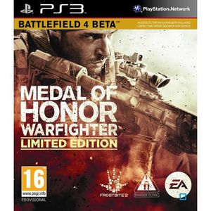 JEU PS3 MEDAL OF HONOR WARFIGHTER LIMITED EDITION / PS3