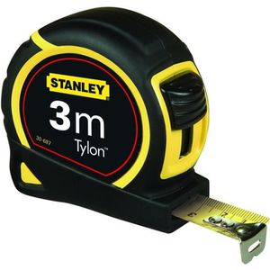 STANLEY M?tre ruban 3mx12,7mm bimati?re Tylon