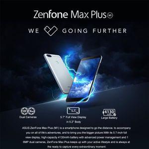 SMARTPHONE ASUS Zenfone Max Plus 3 + 32 Go Argent EU