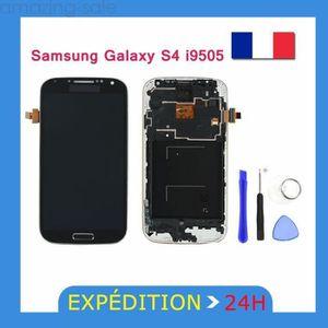 PIÈCE TÉLÉPHONE Ecran tactile + LCD noir Samsung Galaxy S4 i9505 N