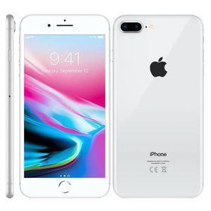 SMARTPHONE Argent Apple Iphone 8 PLUS 64Go occasion débloqué