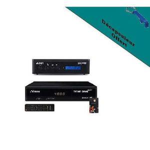 RÉCEPTEUR - DÉCODEUR   STRONG Récepteur satellite HD + Carte TNTSAT V6 +