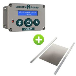 POULAILLER ChickenGuard Standard et Trappe HS