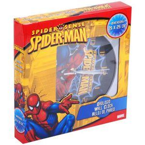 HORLOGE - PENDULE Horloge Pendule Murale Enfant Disney Spiderman ...