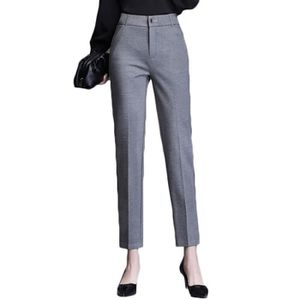 Pantalon droit femme taille haute - Achat / Vente pas cher
