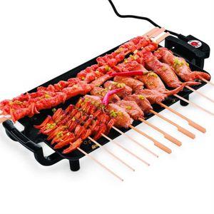 BARBECUE DE TABLE Barbecue de table électrique 1400W 2 en 1 avec con