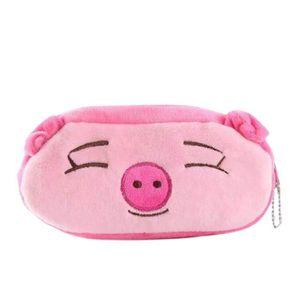 TROUSSE À STYLO Gros cochon Trousse Scolaire Balle en Peluche Kawa