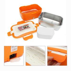 LUNCH BOX - BENTO  TEMPSA Orange 24V Boîte À Repas Déjeuner Chauffant