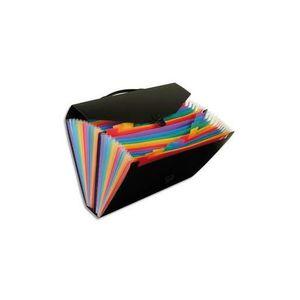 TRIEUR - PARAPHEUR Valise trieur Rainbow 24 compartiements, polypro 1