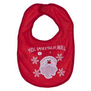 Bonnet de Père Noël Père Noël Dribble Bib Costume robe tissu Baby Food couches