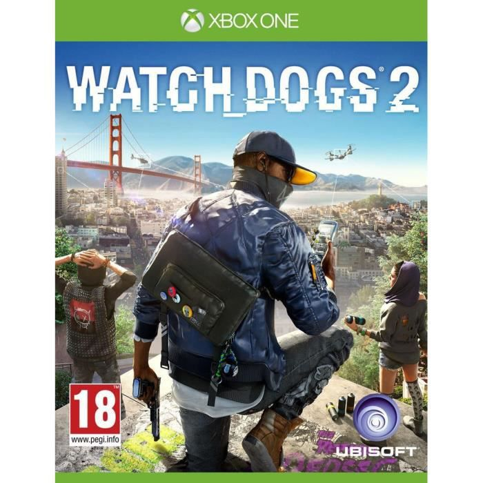 Watch Dogs 2 Jeu Xbox One