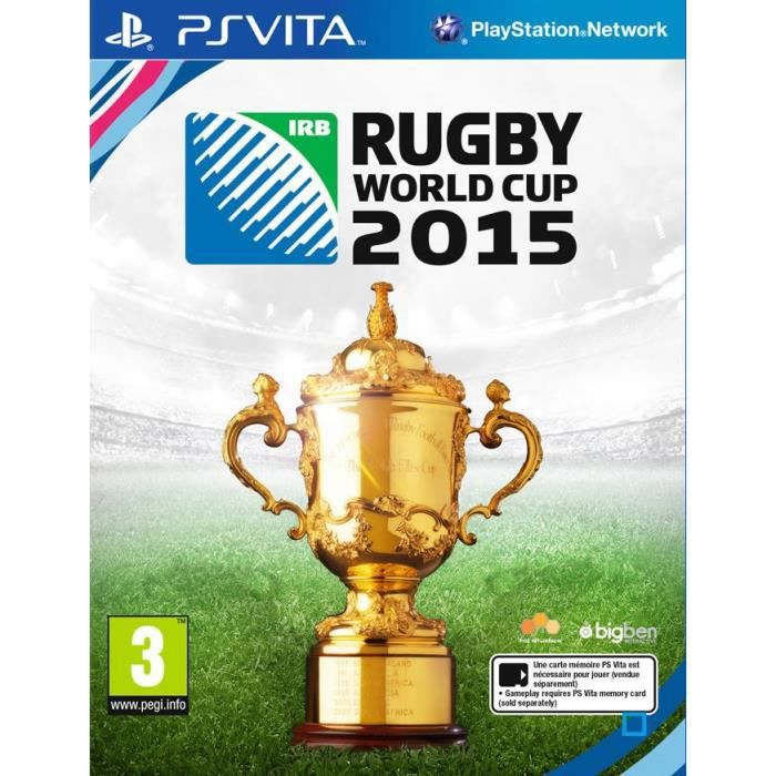 Rugby World Cup 2015 Jeu PS Vita