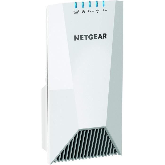 NETGEAR répéteur Wifi Mesh tri-band EX7500, 2.2 Gigabit/s, wifi extender , wifi booster, amplificateur Wifi- La Meilleure Couvertur