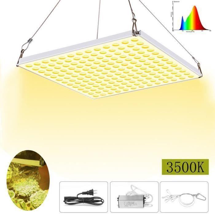 225 LED Eclairage Lampe Croissance Plante Fleur Culture Panneau Ultra-Mince Luminaire Élèvent Lumière