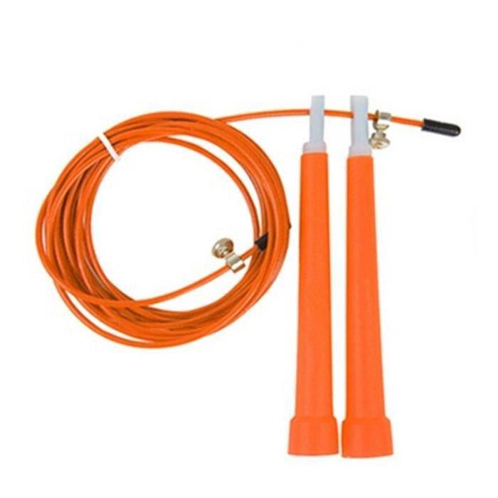 Accessoires Fitness - Musculation,Corde à sauter de corde à sauter de corde à sauter de 3m avec la poignée rapide - Type Orange