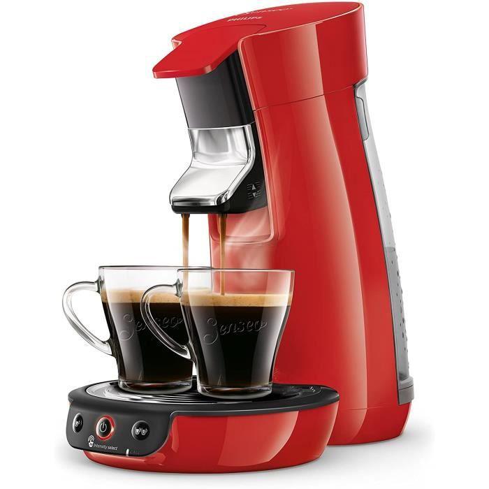 Machine à Café à Dosettes SENSEO Viva Café Rouge