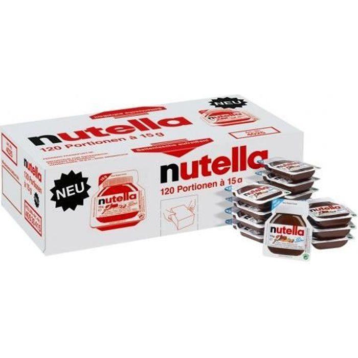 Ferrero Nutella sachet 15g 120 pièces