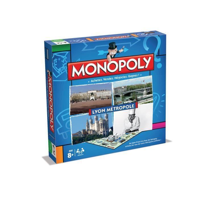 MONOPOLY Lyon Métropole 2015 - Jeu de societé - Version française