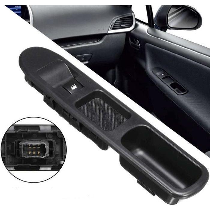 IFCOW®Commande électrique de lève-vitre 6 broches côté passager Peugeot 207 (conduite à gauche)