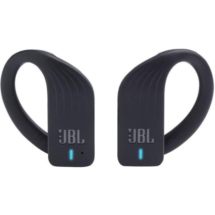 JBL Enduranc Peak - Écouteurs de sport étanches sans fil - 28h d'écoute combinée - Appels mains libre