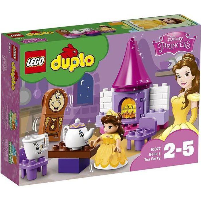 LEGO® DUPLO® Disney Princess™ 10877 Le goûter de Belle - Jeu de construction