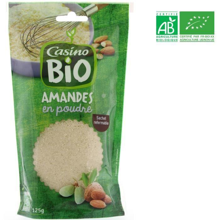 Poudre d'amande Bio - 125 g