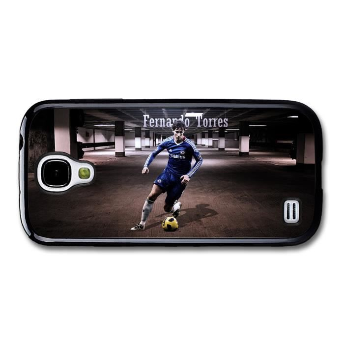 fernando torres el ni o yellow ball football player coque pour samsung galaxy s4 mini achat. Black Bedroom Furniture Sets. Home Design Ideas