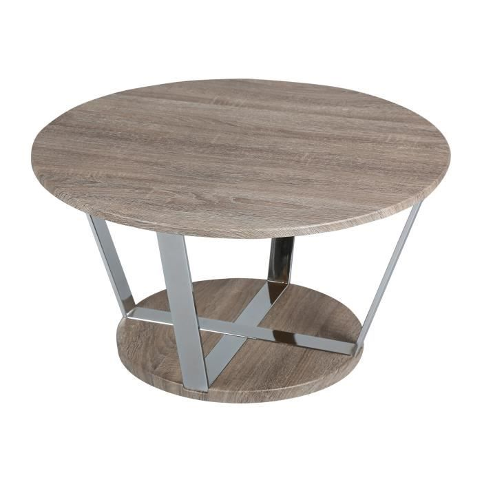 Petite table basse ronde pas cher for Petites tables rondes