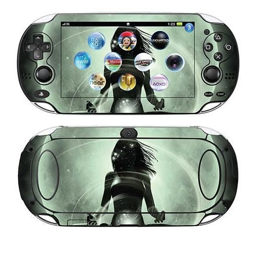 skin stickers pour sony ps vita sticker magic yoga. Black Bedroom Furniture Sets. Home Design Ideas