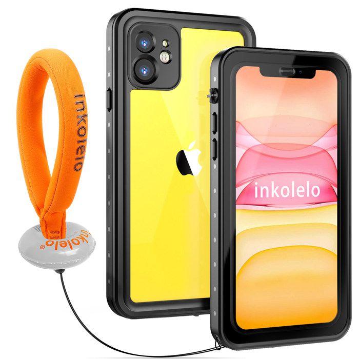 COQUE - BUMPER inkolelo Coque Étanche iPhone 11, Full Body Coque