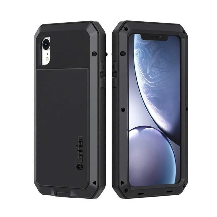 lanhiem coque iphone xr antichoc solide et rig