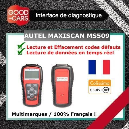 outil diagnostique scanner obd maxiscan ms509 valise diagnostic auto voiture achat vente. Black Bedroom Furniture Sets. Home Design Ideas