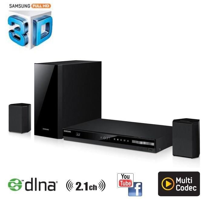 samsung ht f4200 home cin ma blu ray 3d dvd 2 1 achat. Black Bedroom Furniture Sets. Home Design Ideas