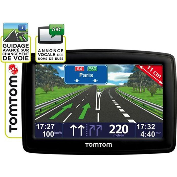 prix carte gps tomtom europe