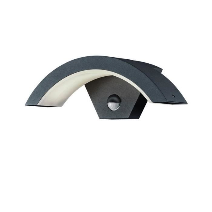 applique d'exterieur led ohio a detect anthracite
