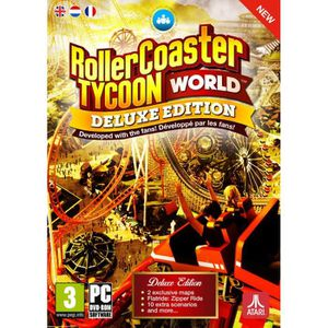JEU PC Roller Coaster World Deluxe Edition Jeu PC